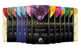 Divine Chocolate new packaging