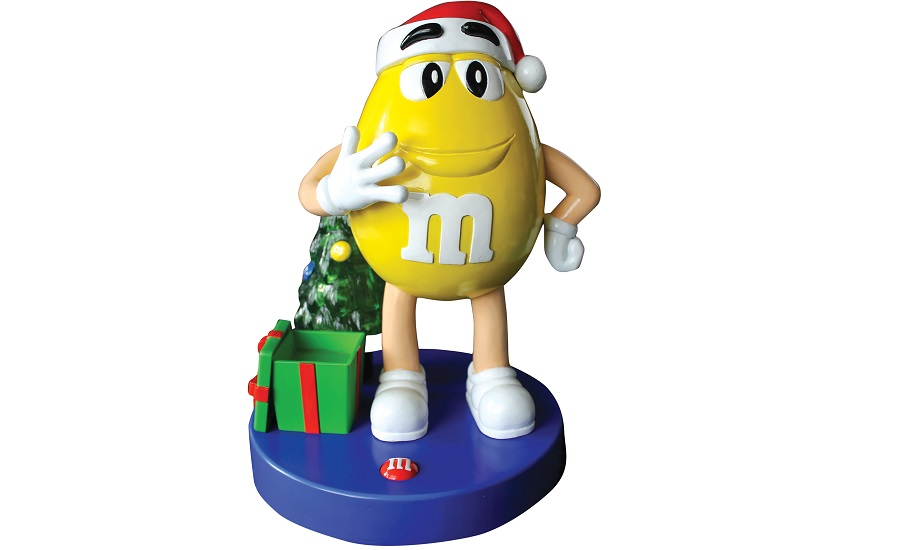 M&M'S Christmas Character Dispenser