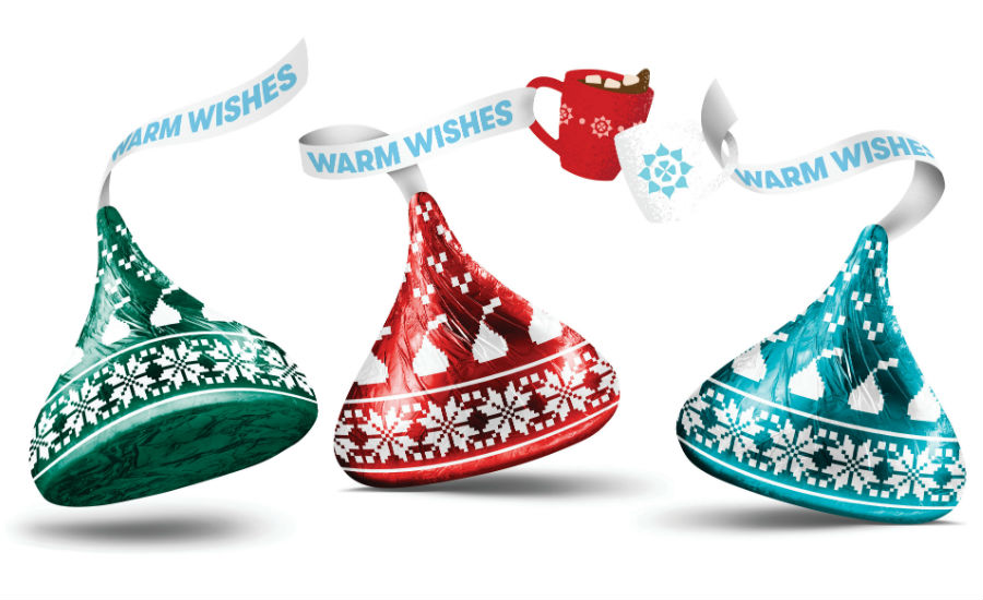 Hershey's Kisses Kissmas Collection