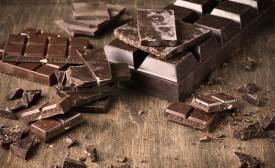 stock chocolate bar