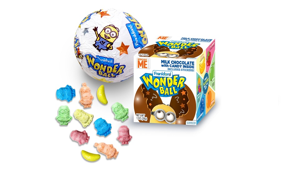 Frankford Candy Co Reintroduces Wonder Ball 2016 10 12 Candy
