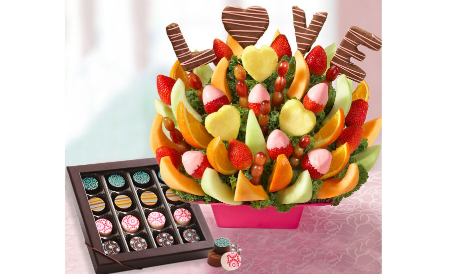 1 800 Flowers Chocolate Works Team Up To Deliver Fruit