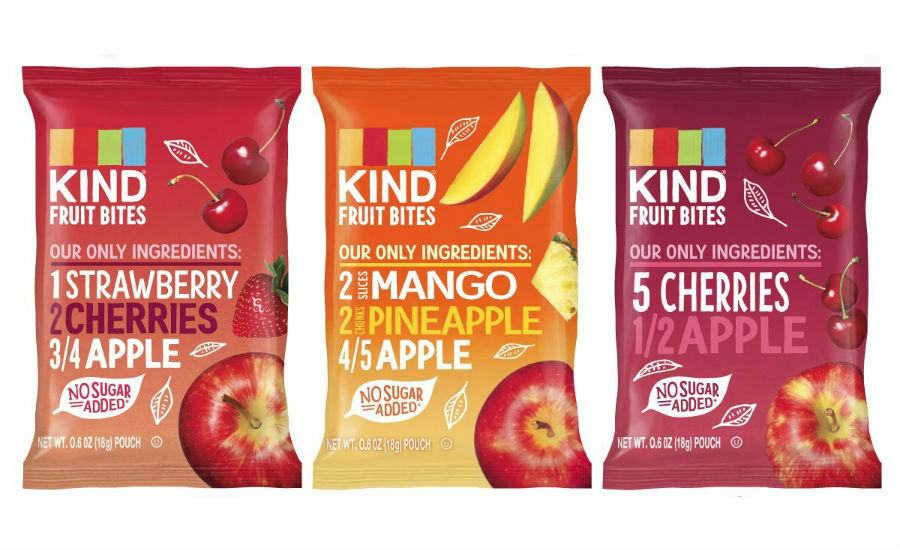 KIND fruit snacks