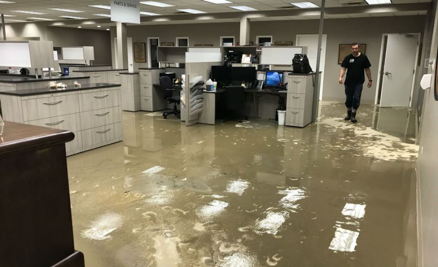 Savage Bros. back in business after water main break ...