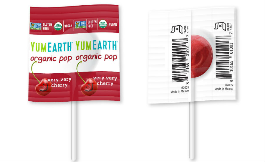 YumEarth lollipops