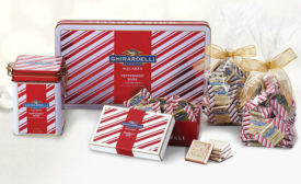 Ghirardelli Peppermint Bark collection