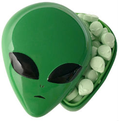 Alien Head tin