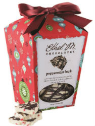 Ethel M peppermint bark