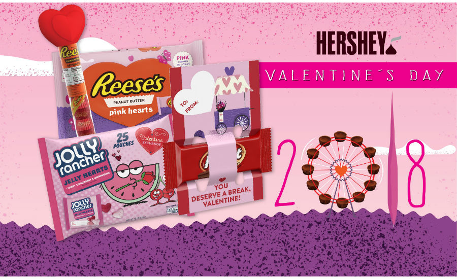 Hershey Valentine's Day products