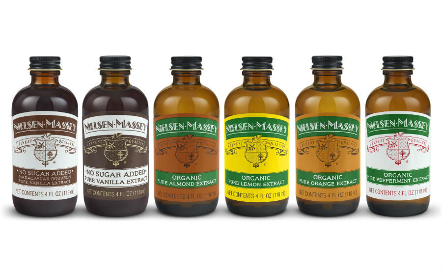 Nielsen-Massey introduces organic extracts, no-sugar-added vanillas