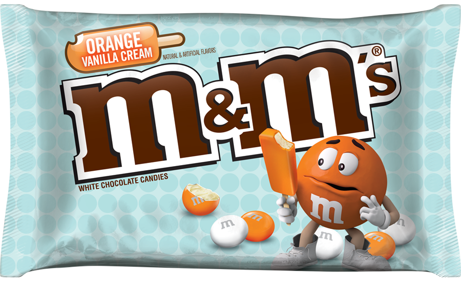Orange Vanilla Cream M&M's