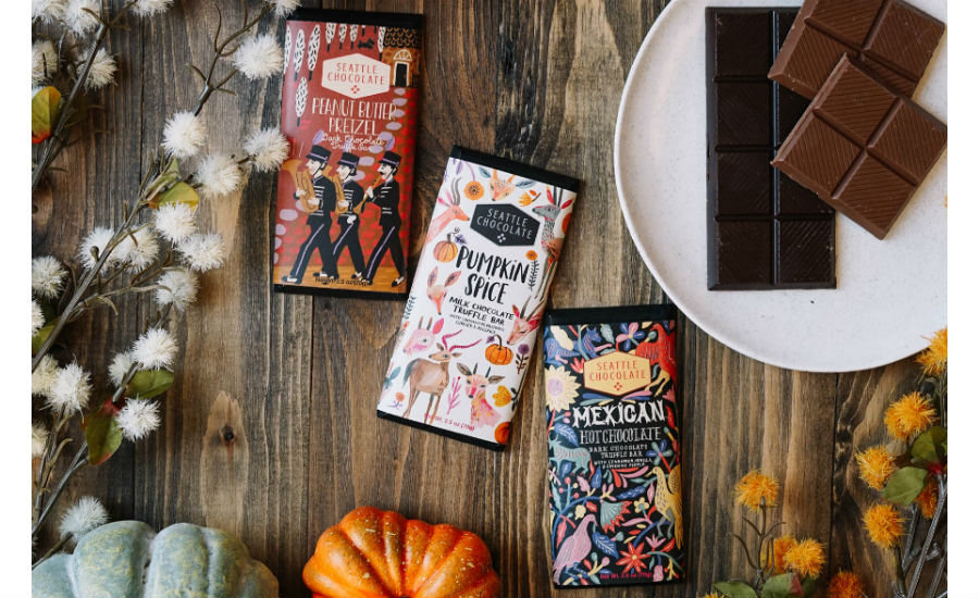 Seattle Chocolate fall bars