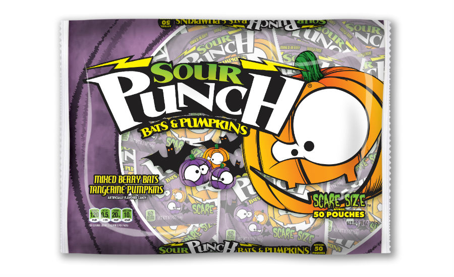 Sour Punch Bats and Pumpkins