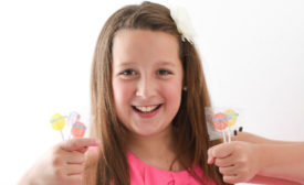 Alina Morse, the 12-year-old founder of tooth-friendly Zolli Candy, pledged to expand her Smiles Program candy giveaway from 250,000 to 1 million lollipops.