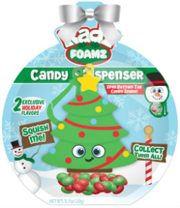 Foamzholiday dispenser