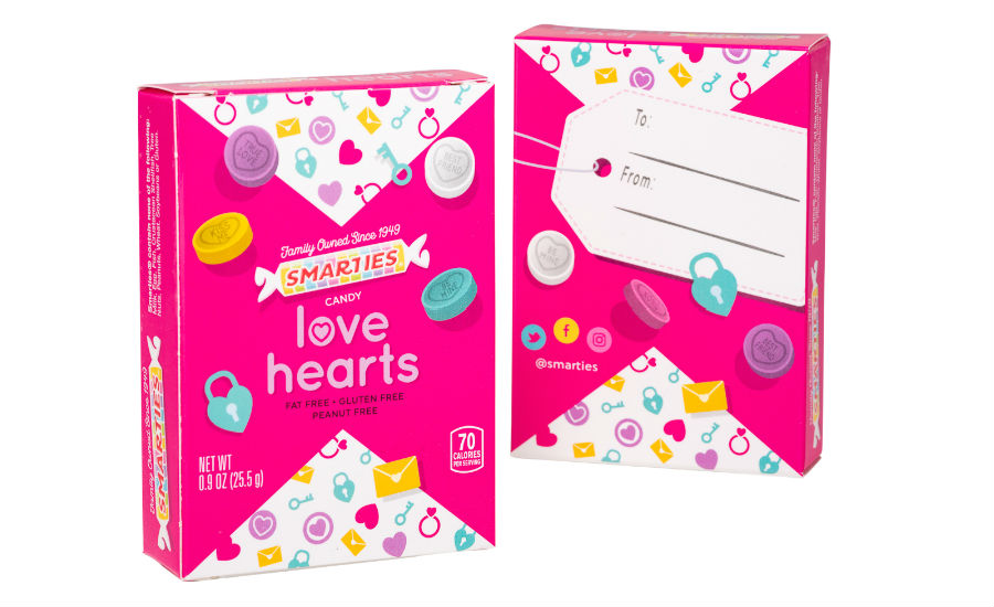 Smarties Love Hearts Box