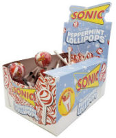 Sonic Peppermint Pop Counter
