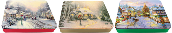Thomas Kinkade LED tins