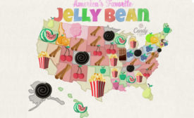Jelly bean map