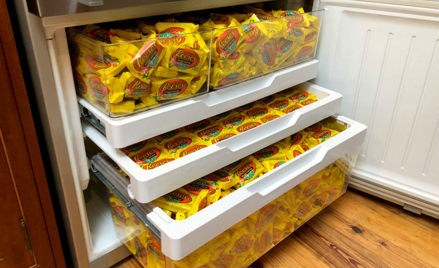 Reese S Freezing Peanut Butter Easter Eggs To Deliver To Fans This
