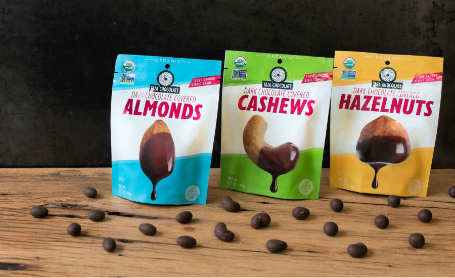 Taza Chocolate-Covered Nuts