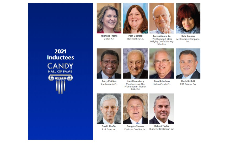 2021 Candy Hall of Fame