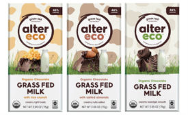 Alter Eco Grass Fed Milk Chocolate