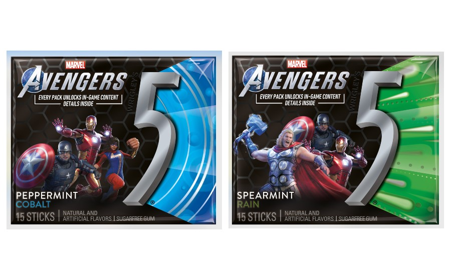 5 Gum Partners With Makers Of Marvel S Avengers Game To Offer In Game Content 2020 08 19 Candy Industry 5 gum game of thrones how it feels to chew 5 gum uploaded by mr mulaney. 5 gum partners with makers of marvel s
