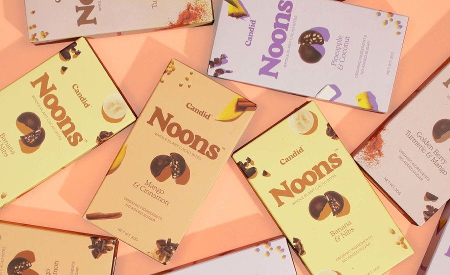 Candid launches NOONS whole-plant chocolate snacks | 2020-05-05 | Candy Industry