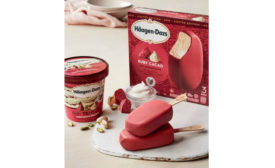 Haagen Dazs Ruby ice cream