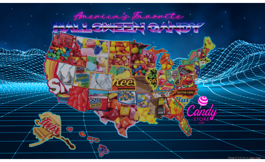 Halloween Candy By State 2020 What's the top Halloween candy in each state? | 2020 09 24 | Candy