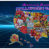 Halloween candy map 2020