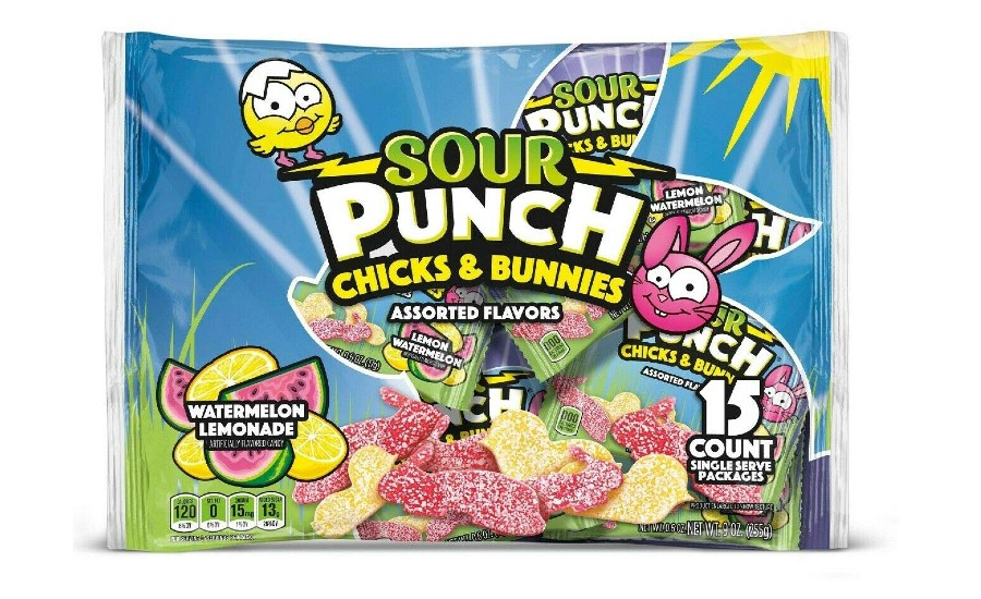 Sour Punch Chicks and Bunnies