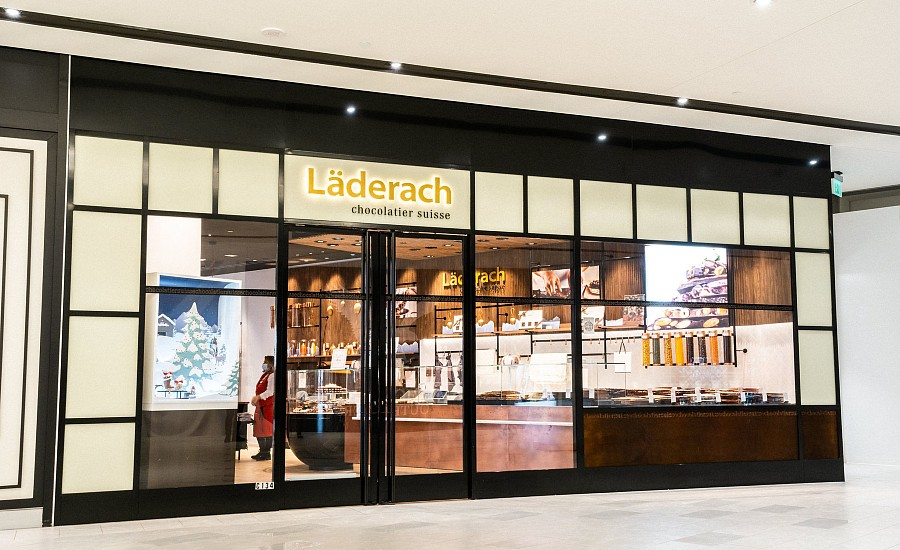 Laderach storefront