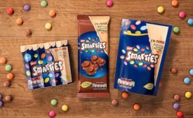 Nestle Smarties packaging