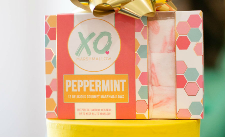 XO peppermint marshmallows
