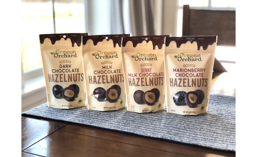 Hazelnut Growers of Oregon introduces Oregon Orchard® 'confection collection'
