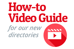 How to Video Guide for new directories