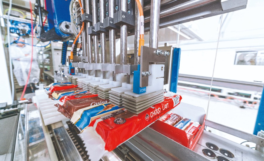 After the upgrade, the TLM machine now packs 380 products per minute into cartons.