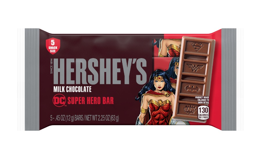 Wonder Woman Hershey bar