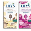 Lilys white chocolate bars