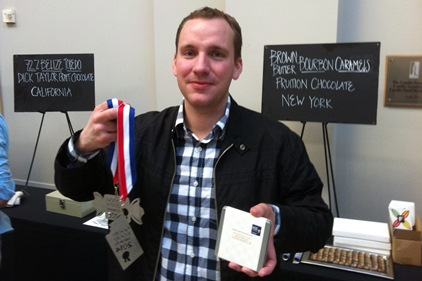 Bryan Graham, Winner in the Chocolate and Confections category