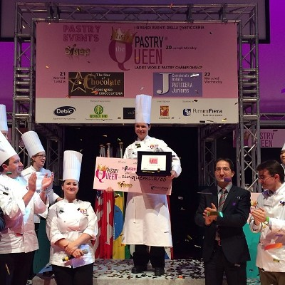 Cher Harris, executive pastry chef at The Hotel Hershey, crowned â??Pastry Queenâ??