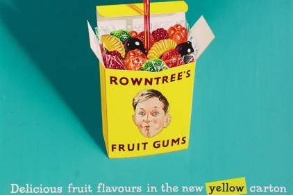 Rowntrees Gum Retro package