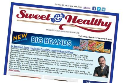 Sweet and Healthy eNews
