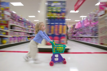 Kid shopping
