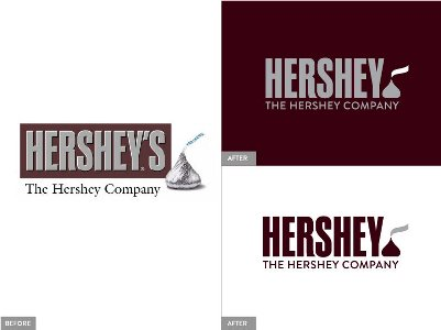 The Hershey Co. New Logo