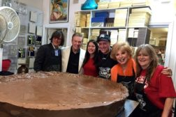 Worlds largest peanut butter cup