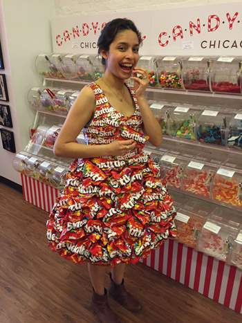 Candyality   Skittles wrappers = Sweetest prom ever | 2015-05-29 ...