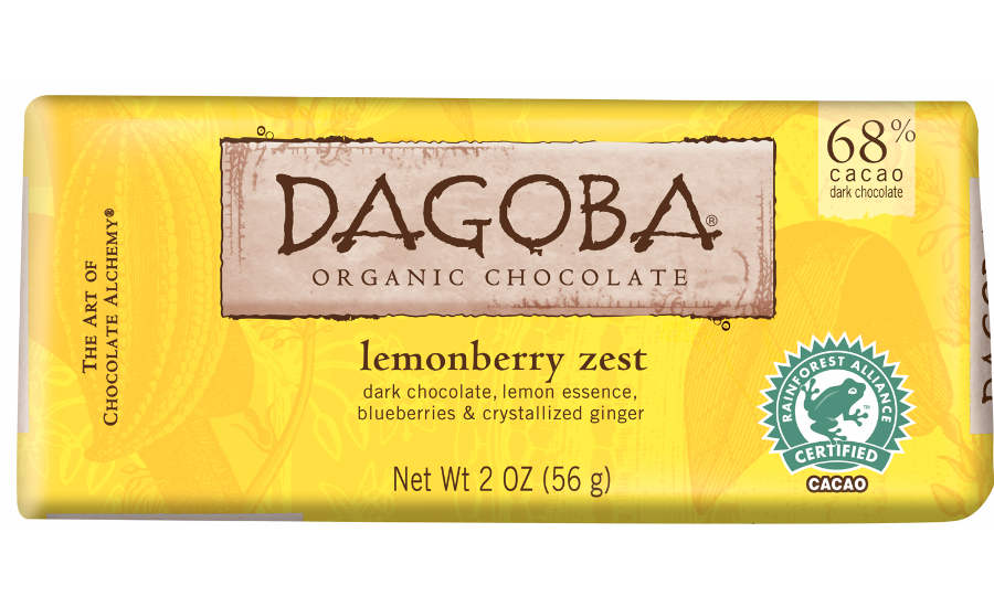 Lemonberry Zest Chocolate Bar